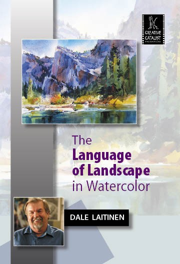 The Language of Landscape in Watercolor Cover Photo